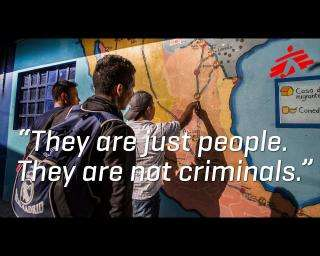 """They are just people. They are not criminals."""