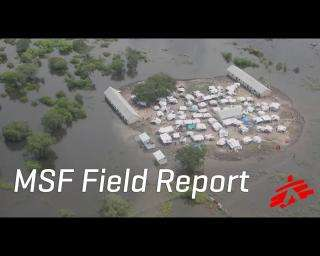 Treating People Amid Flood Disaster in South Sudan