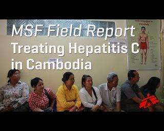 Free care for hepatitis C in Cambodia