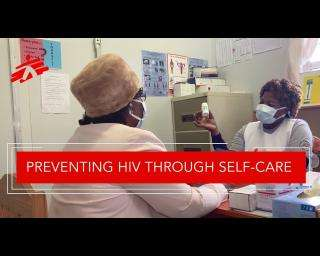 Protecting herself against HIV through self-care in Eswatini