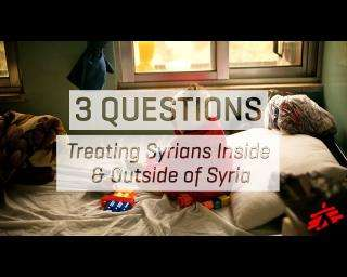 3 Questions: Treating Syrians inside & outside of Syria