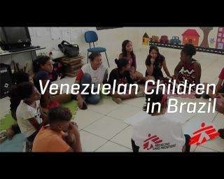 Helping Venezuelan Children Cope with New Challenges in Brazil