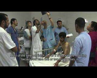 A day at MSF's hospital in Aden, Yemen