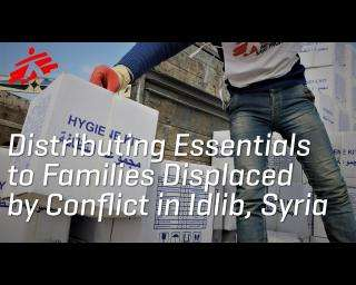 Syria: Distributing Essentials to Families Displaced by Conflict in Idlib