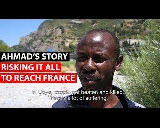 Refugee crisis | Migrants stuck in Italy risk all to reach France - Part 1