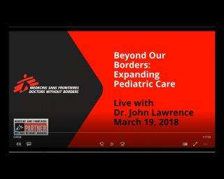 Beyond our borders: Expanding pediatric care live with Dr. John Lawrence