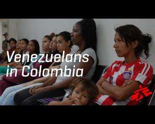 Video: Venezuelan migrants find more struggle in Colombia