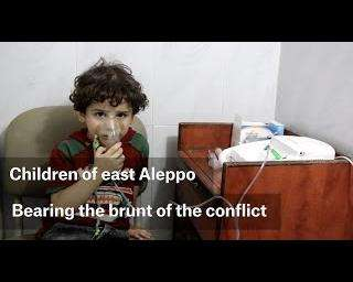 The children of east Aleppo