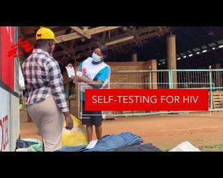 Self-testing for HIV gives patients power over their health in Eswatini