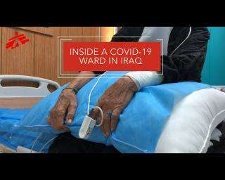 Iraq: Inside a COVID-19 ward in Baghdad