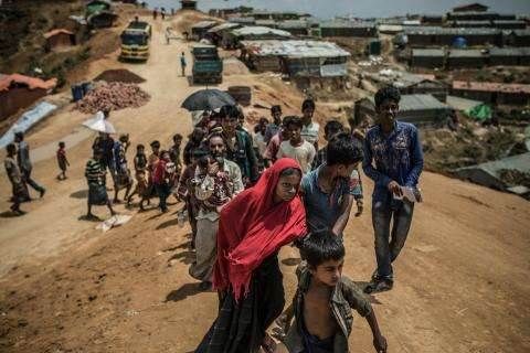 The Rohingya refugee crisis