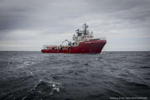 MSF and SOS MEDITERRANEE will use the ship Ocean Viking for search and rescue operations in the central Mediterranean Sea.