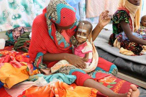 Malnutrition in Am Timan, Chad