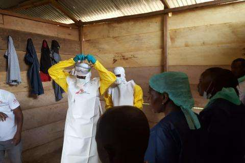 Ebola outbreak in Mangina