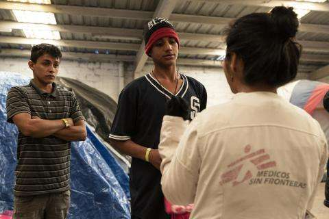 ASSISTING MIGRANTS IN TIJUANA