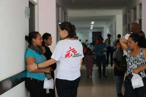 Medical care to Venezuelan migrants in Colombia