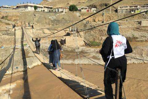 After the floods in Iran, providing health care to the vulnerable populations in Lorestan