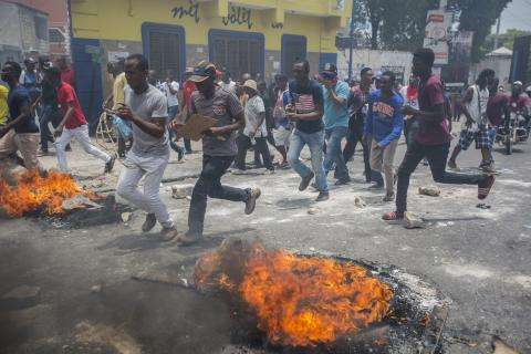 Health at risk in Haiti as crisis and violence worsen