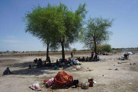 South Sudan Sudan internally displaced refugee